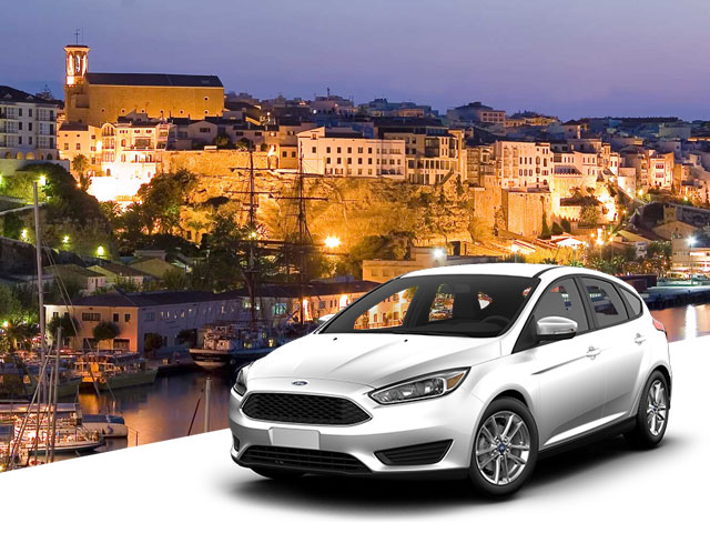 Car Hire in Menorca at the best price